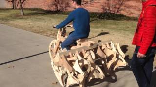 wooden bike mount