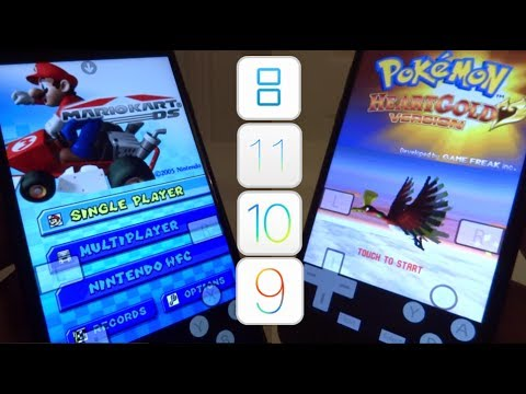 NEW Install Nintendo DS & Games FREE iOS 11 - 11.1 / 10 / 9 NO Jailbreak NO PC iPhone iPad iPod