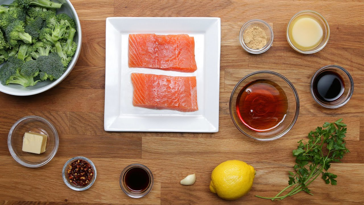 Mapleglazed Salmon Dinner In 15 Minutes Or Less