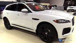 2018 Jaguar F Pace S AWD - Exterior and Interior Walkaround - 2018 Montreal Auto Show