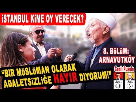 En Koyu AK Partililerin Yaşadığı Arnavutköy'de Sorduk! İstanbul Seçim Anketi