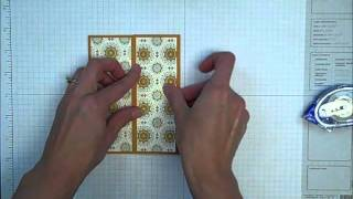 How To Make A Gate Fold Card