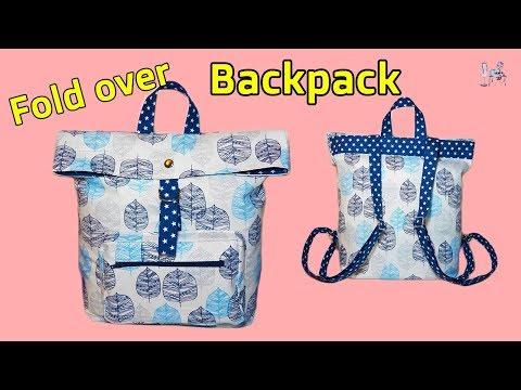 DIY BACKPACK    BAG MAKING   TOTE BAG TUTORIAL   DIY BAG   HOW TO MAKE BACKPACK