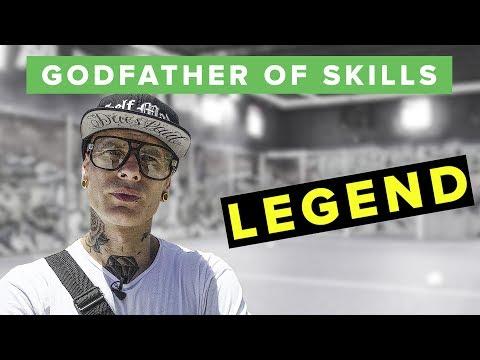 Meet the GODFATHER of Street Soccer Skills - Edward van Gils VS Ochocinco