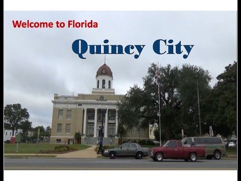 Welcome to FLORIDA - Downtown QUINCY City
