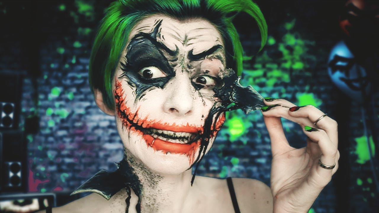 Joker Vs Batman · Maquillaje Joker Makeup FX · Arkham