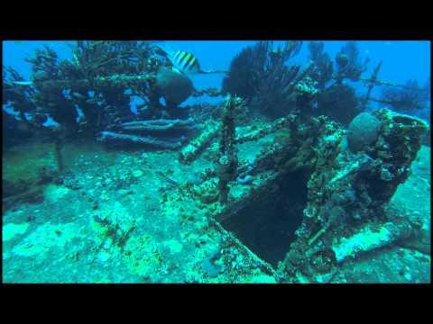 """Jads Dive Shop Aruba Scuba """"Jane Sea"""" Wreck"""