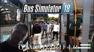 Bus Simulator 18 - Never had this many passengers before. (Ep3)
