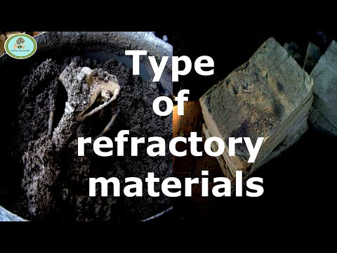 REFRACTORY || TYPES OF REFRACTORY MATERIALS ||