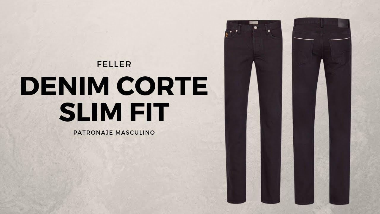 Pantalon Jean Corte Slim Fit Youtube