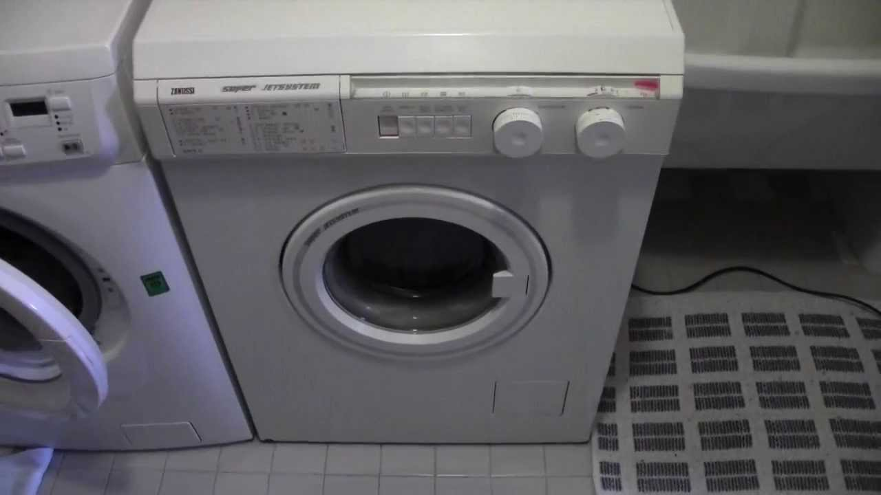 lavatrice zanussi super jetsystem rumore della pompa di
