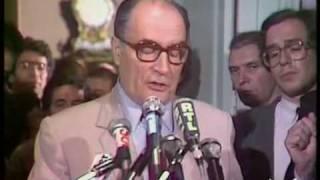 Election présidentielle 1981 : 1ère déclaration Mitterrand