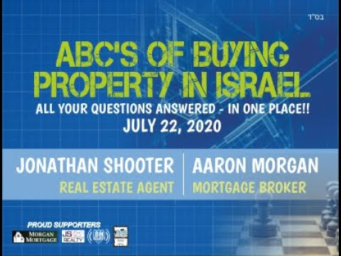 Buying Property In Israel 101 - ALL YOUR REAL ESTATE QUESTIONS ANSWERED