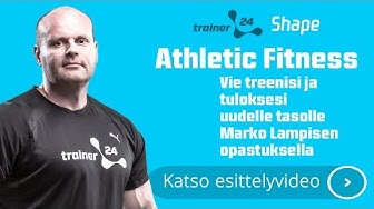 Trainer24.fi - Athletic fitness :: Marko Lampinen