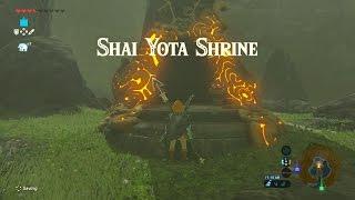 Zelda Unlocking the Shai Yota Shrine, Master of the Wind quest.