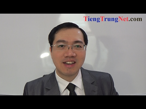 Học Tiếng Trung Giao tiếp Cơ bản Bài 1 CHINEMASTER