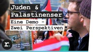 Juden & Palästinenser - Eine Demo zwei Perspektiven