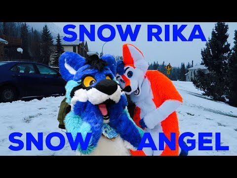 MAKING SNOW RIKA AND SNOW ANGELS