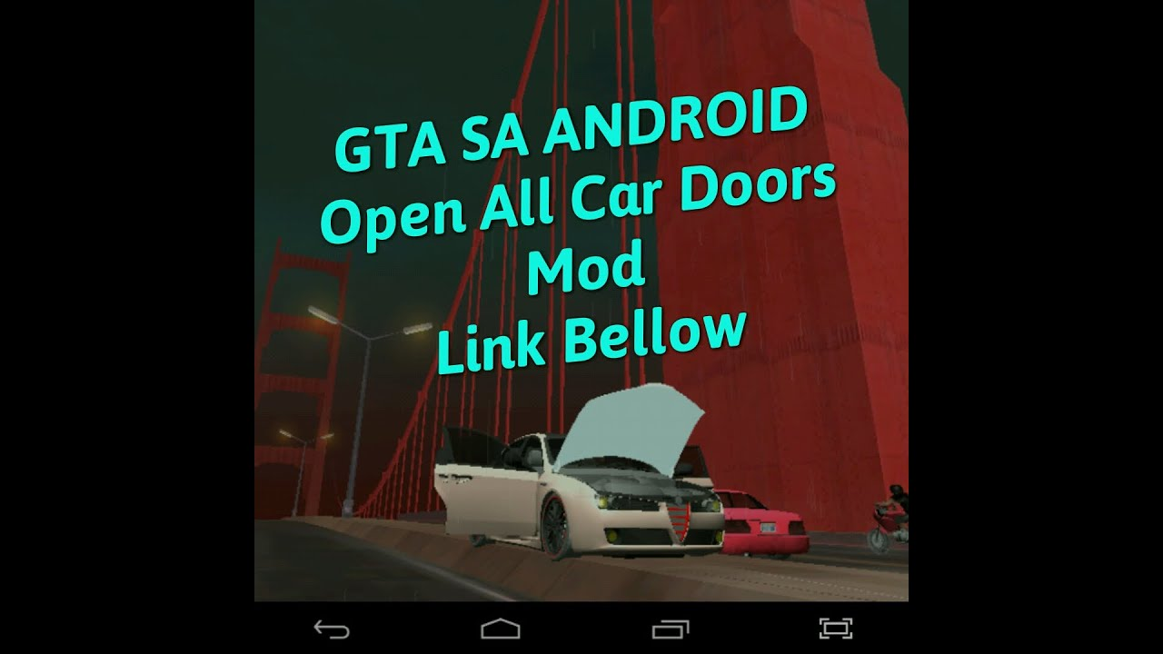 GTA Sa Android Mods/Open all car doors mod/Cleo sa/link bellow  sc 1 st  YouTube & GTA Sa Android Mods/Open all car doors mod/Cleo sa/link bellow - YouTube