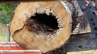 WAIT TIL YOU SEE THE INSIDE OF THIS UGLY MAPLE LOG