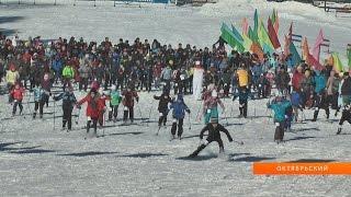 Накануне прошла сдача норм ГТО по бегу на лыжах