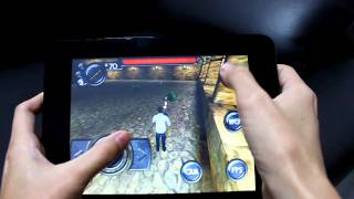 3d shooter gaming on android d9 cortex a8 di mobile