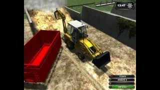 Repeat youtube video Baggerlader JCB CX3 4WD für LS 2011 TOP MOD