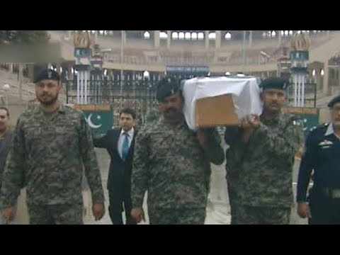 Funeral prayers offered for Pakistani prisoner stoned to death in