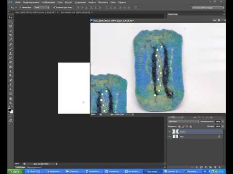 Как в Photoshop поместить два фото в одном