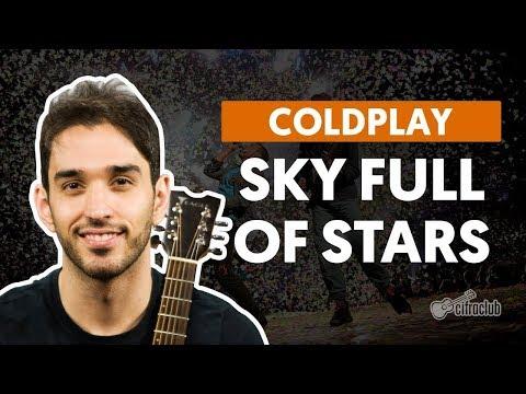 SKY FULL OF STARS - Coldplay (aula de violão simplificada)