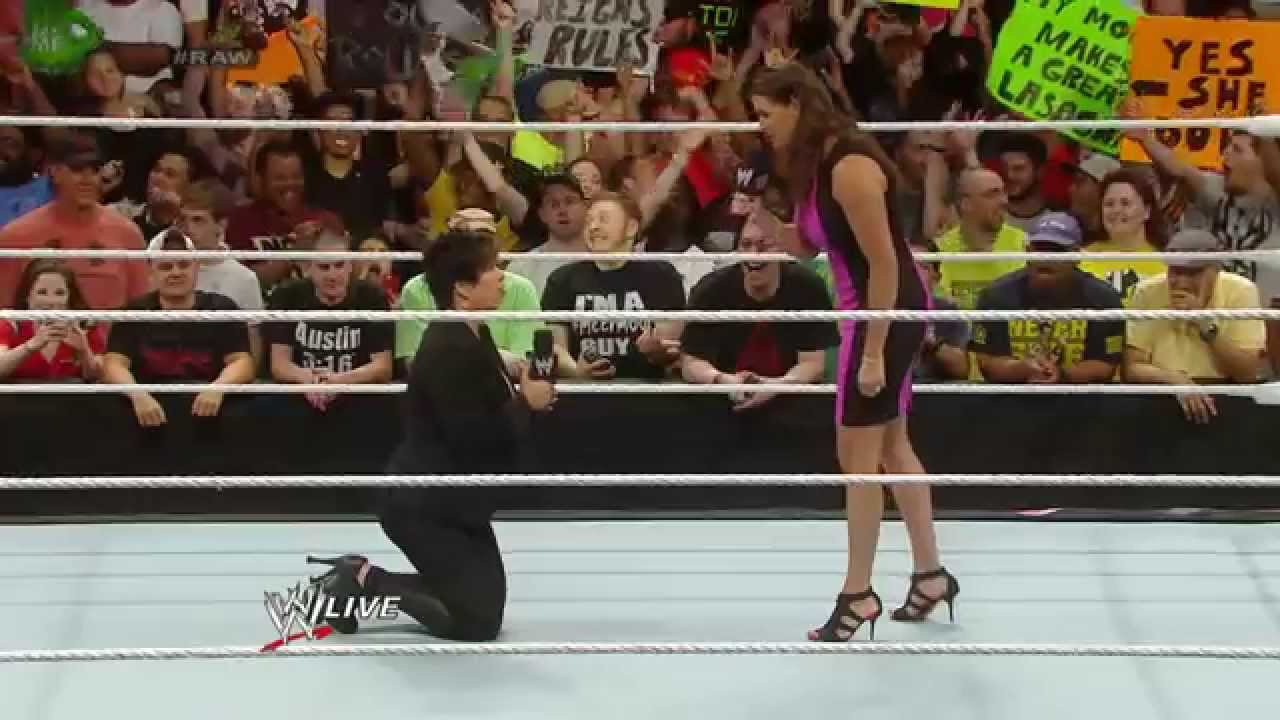 Stephanie Mcmahon Gives Vickie Guerrero An Ultimatum Raw June 23