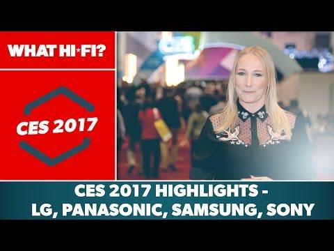 CES 2017 highlights – LG, Panasonic, Samsung, Sony, flagship TVs, Technics
