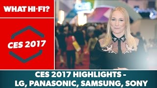 CES 2017 Highlights – LG, Panasonic, Samsung, Sony, Flagship TVs, Technics