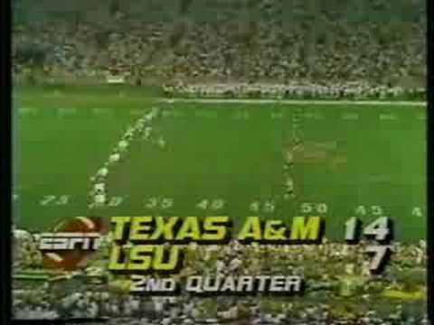 Texas A&M v. LSU - 12th Man Kick Off Team