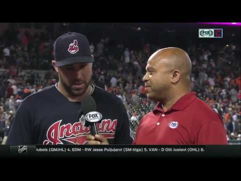 Rajai Davis, Jason Kipnis talk bizarre ending and big night for Cleveland Indians
