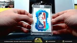 HIT OF A LIFETIME DIAMOND NBA LOGO MAN 1/1 2018-19 Panini Flawless Basketball RDM Hit #1