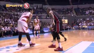 Fajardo's fake-and-slam