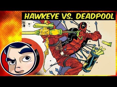 Deadpool vs Hawkeye - Complete Story | Comicstorian