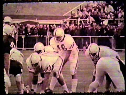 Pac-8 Football Highlights w/audio, 1975