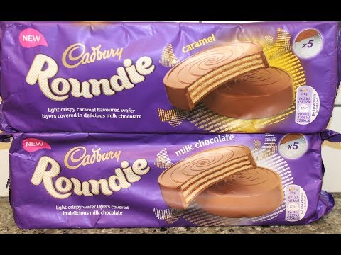 Cadbury Roundie: Caramel & Milk Chocolate Review