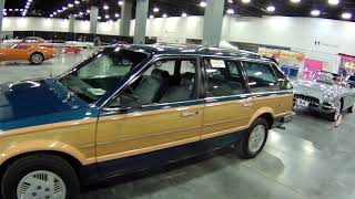 Original 1988 Pontiac 6000 Safari Station Wagon at Miami Beach Auto Show