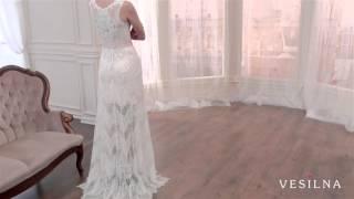 Короткое свадебное платье от VESILNA™ модель 3035