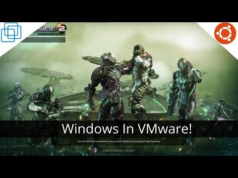Running Windows Games On Linux? Try VMware Player Instead!