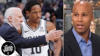 Spurs' situation is 'the exact same' as the Patriots - Richard Jefferson | The Jump
