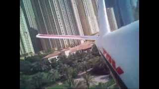 R/C Glider Fox Dubai inboard Cam view