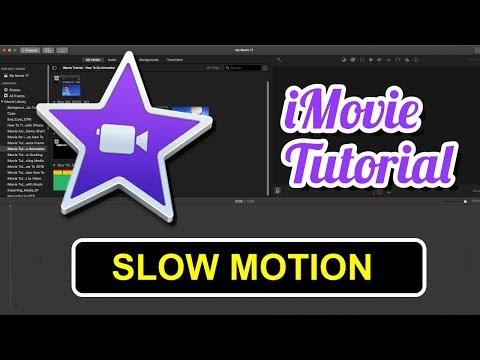 IMovie Tutorial - Slow Motion Video 2019