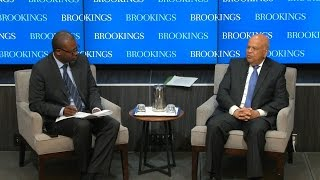A conversation with South African Finance Minister Pravin Gordhan