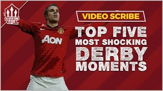 Top 5 Manchester United vs Manchester City Derby Moments