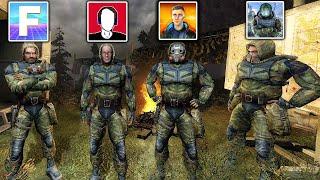 Смогут ли 4 ютубера пройти 8 волн мутантов? STALKER X-RAY Multiplayer Extension: Defence