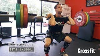 Ben Smith: 5x5 Front Squat